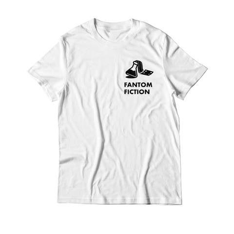 Arcade Tokens Fantom Fiction T-Shirt - White