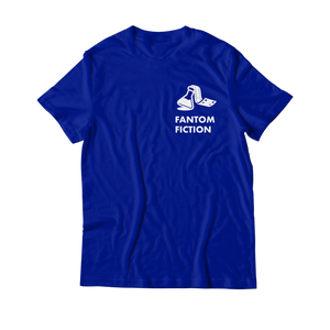 Arcade Tokens Fantom Fiction T-Shirt - Blue