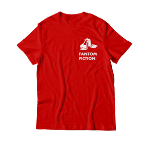 Arcade Tokens Fantom Fiction T-Shirt - Red