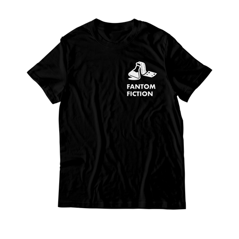 Arcade Tokens Fantom Fiction T-Shirt - Black