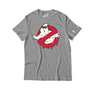 Ice Cream Social Ghostbuster Drip 2 T-Shirt - Grey