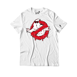 Ice Cream Social Ghostbuster Drip T-Shirt - White