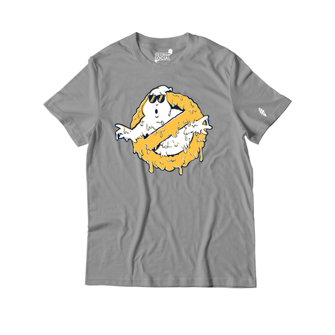 Ice Cream Social Ghostbuster Drip IV T-Shirt - Grey