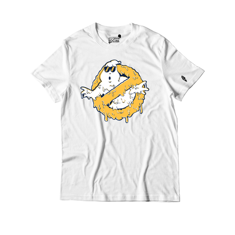 Ice Cream Social Ghostbuster Drip IV T-Shirt - White