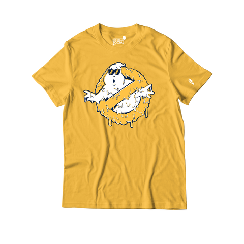 Ice Cream Social Ghostbuster Drip IV T-Shirt - Yellow