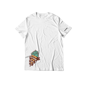 Ice Cream Social Cone T-Shirt - White