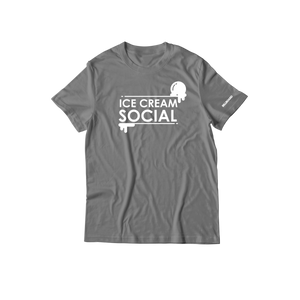 Ice Cream Social T-Shirt - Grey