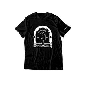 Ice Cream Social Store T-Shirt - Black