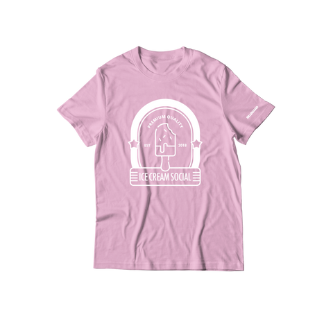 Ice Cream Social Store T-Shirt - Pink