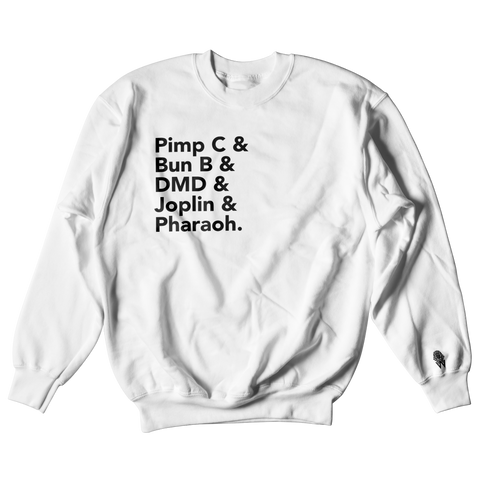 W.A.P Port Arthur Texas Finest Crewneck - White