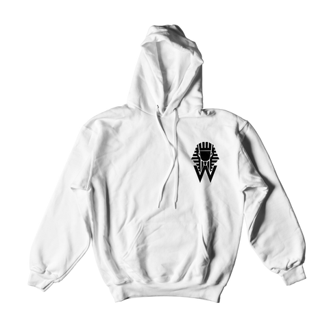 W.A.P Symbol of the Pharaoh Hoodie - White
