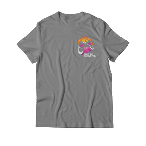 Arcade Tokens Retro Gaming T-Shirt - Grey
