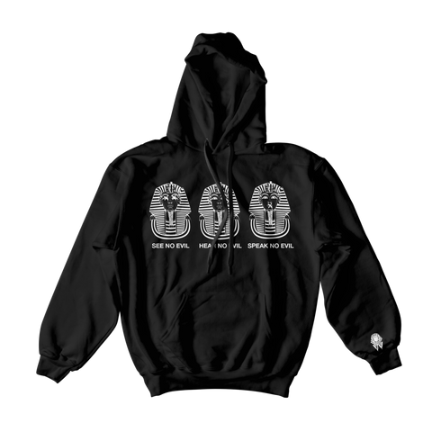 W.A.P See Speak Hear No Evil Hoodies - Black