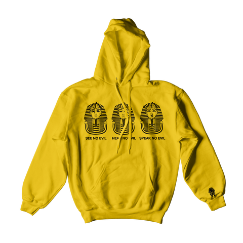W.A.P See Speak Hear No Evil Hoodies - Yellow