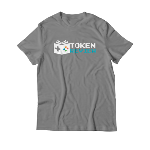 Arcade Tokens Token Review T-Shirt - Grey