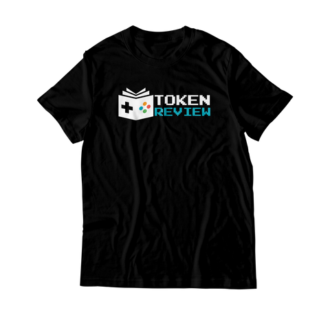 Arcade Tokens Token Review T-Shirt - Black