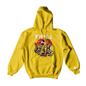 W.A.P Trill Bot Hoodie - Yellow