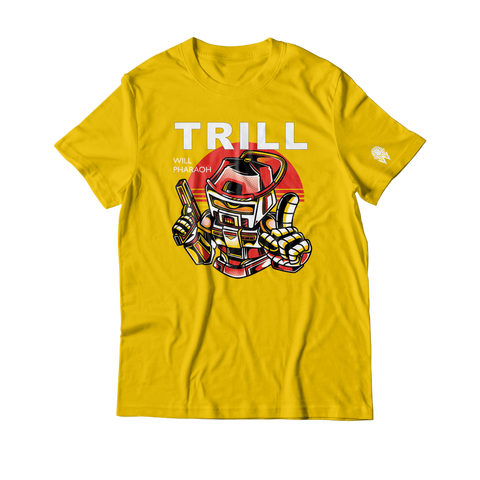 W.A.P Trill Bot T-Shirt - Yellow