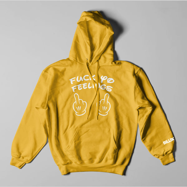 "Fuck Yo Feelings ""The Fingers"" Logo Unisex Hoodie"