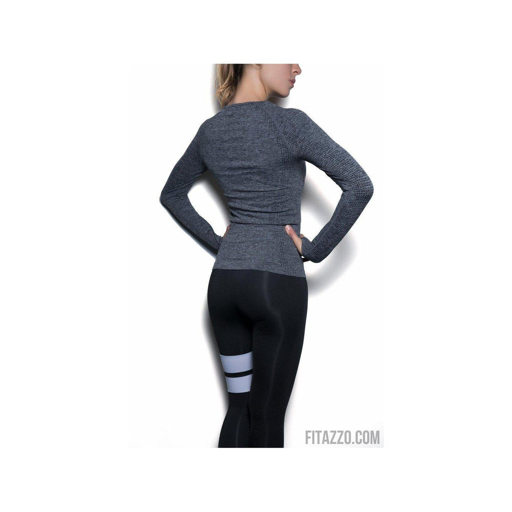 Long Sleeve Workout Shirt-Activewear-Fitazzo