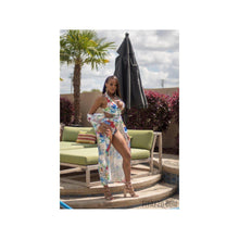 Summer Breeze Two Piece Swimsuit ( Cover up included )-Fitazzo