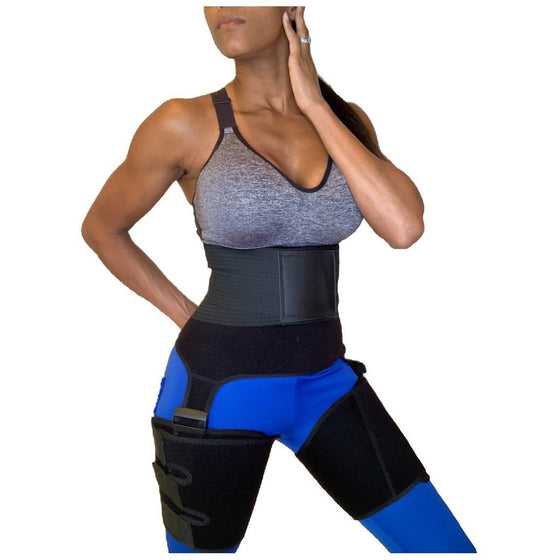 Heavy Duty Waist and Thigh Master-Slimming belts-Fitazzo