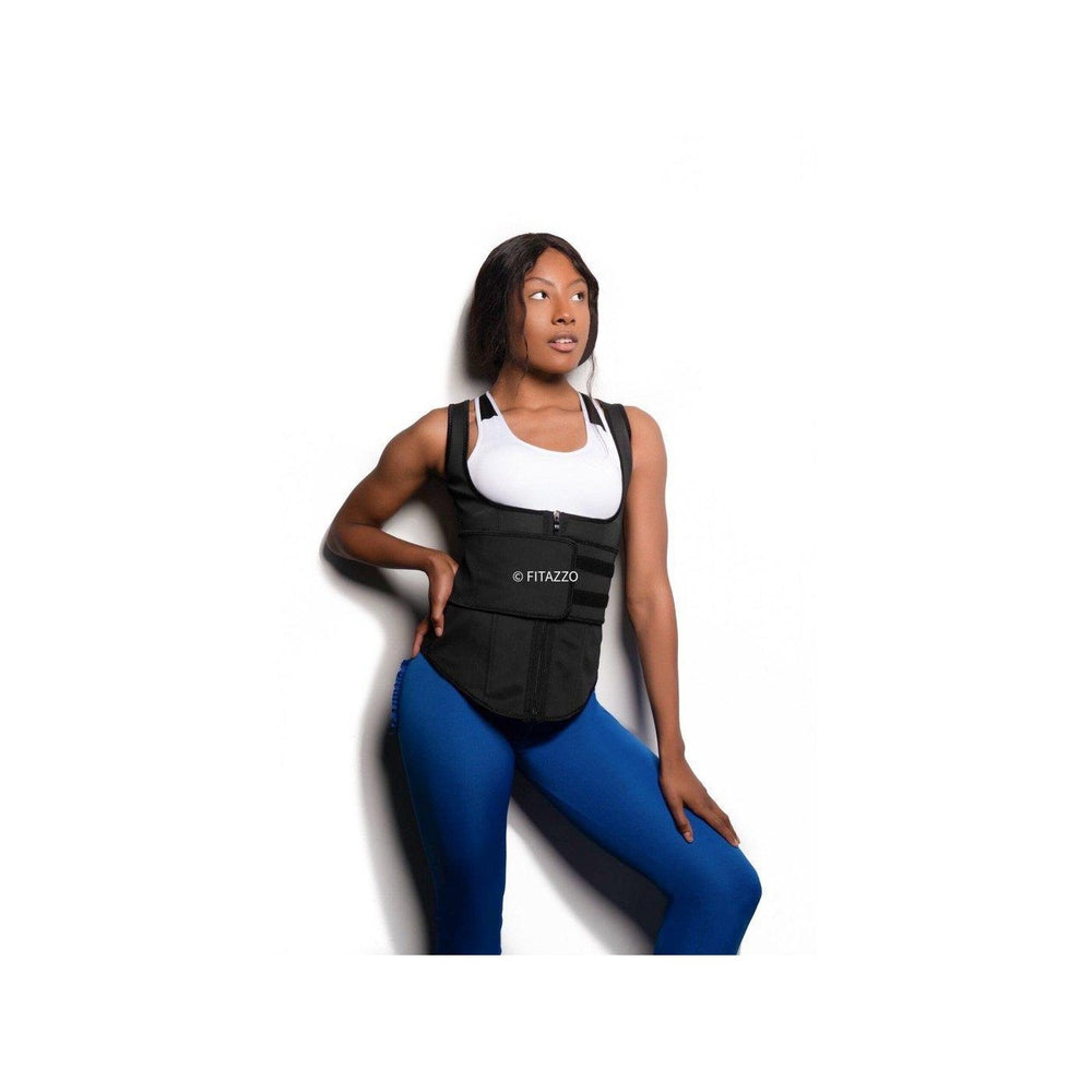 Full coverage Latex Waist Master-Waist Trainer-Fitazzo