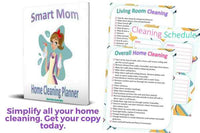 Home cleaning checklist printable