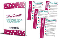 Blog Smart Profitable Blogging Checklists