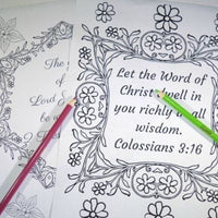 Mom's Inspiration Adult Coloring Book