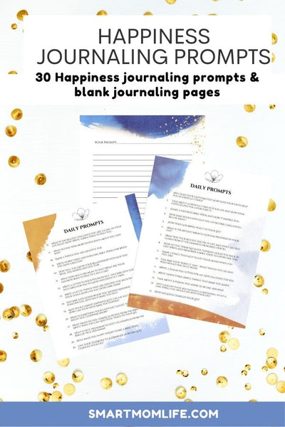 Happiness Journal Prompts
