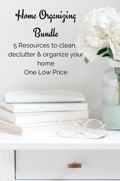 Home Organizing Bundle