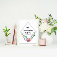 Bible verses on Hope wall art