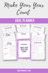 Make Your Year Count Goal Planner