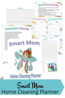Smart Mom Home Cleaning Planner