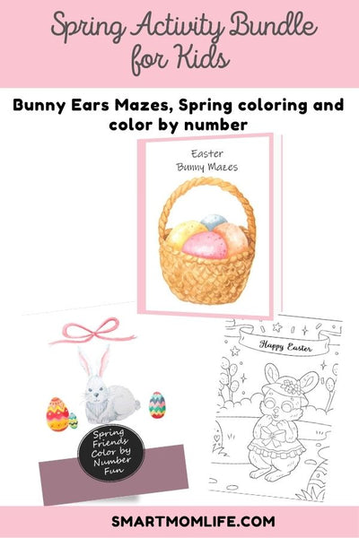 Spring Kids Activity Bundle