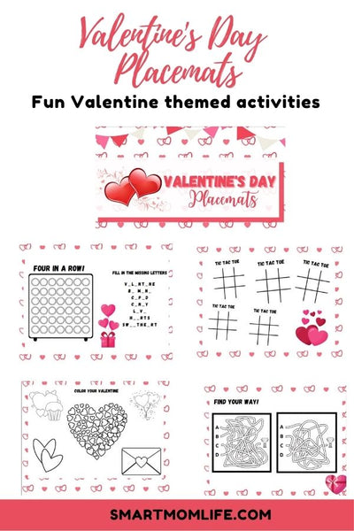 Valentine's Day Placemats