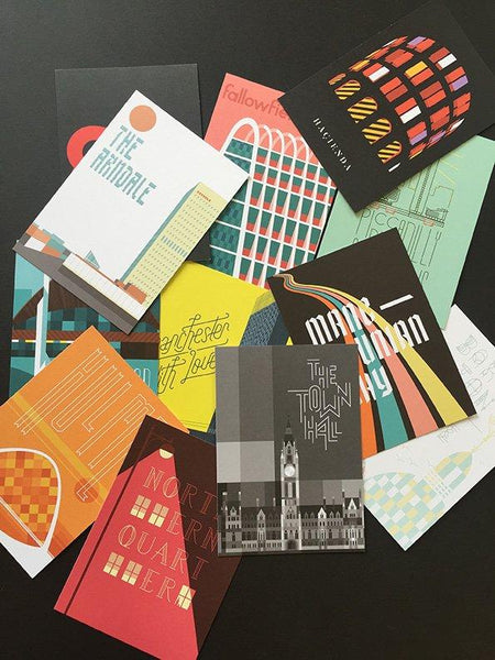 MANC-42: Manchester with Love Postcard Set