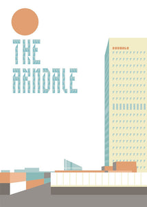 MANC-40: The Arndale - Limited Edition Artwork by Stan Chow & Dave Sedgwick