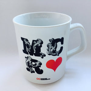 MANC-26: MCR Mug designed by Si Scott
