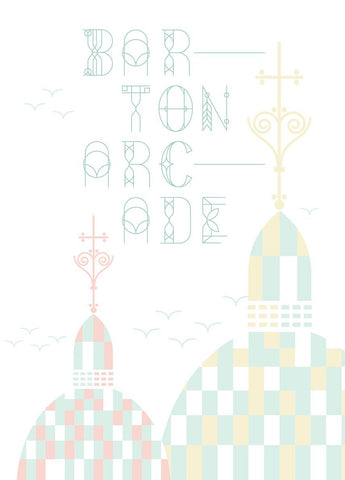 MANC-34: Barton Arcade - Limited Edition Artwork by Stan Chow & Dave Sedgwick