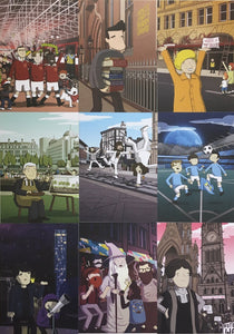 MANC-93 - Forever from Manchester A6 Postcard Set
