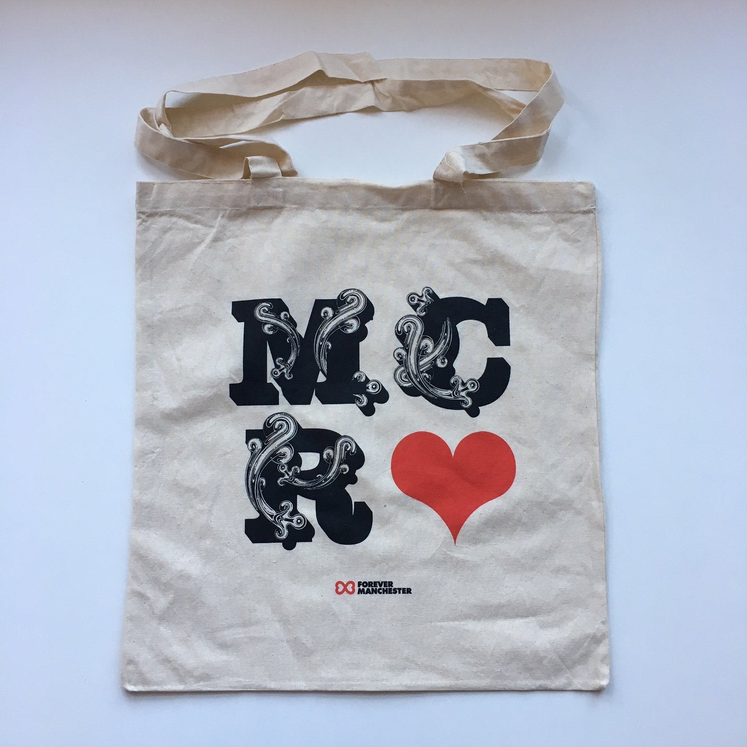 MANC-27: MCR Tote Bag designed by Si Scott