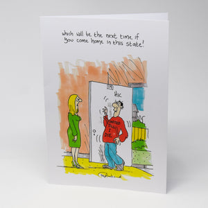 United Till I Die Greetings Card