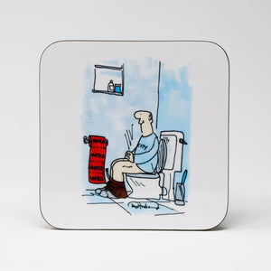 MUFC Toilet Paper Coaster