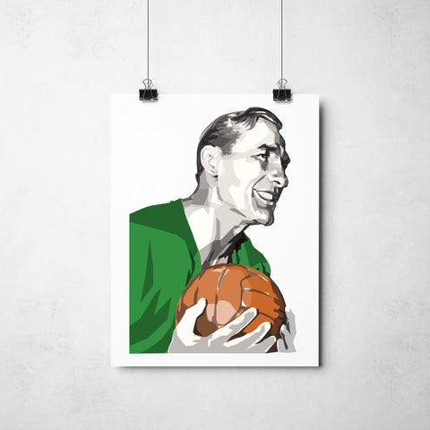Bert Trautmann Print by This Charming Manc