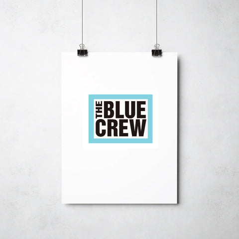 Blue Crew  print by Ray Lancaster