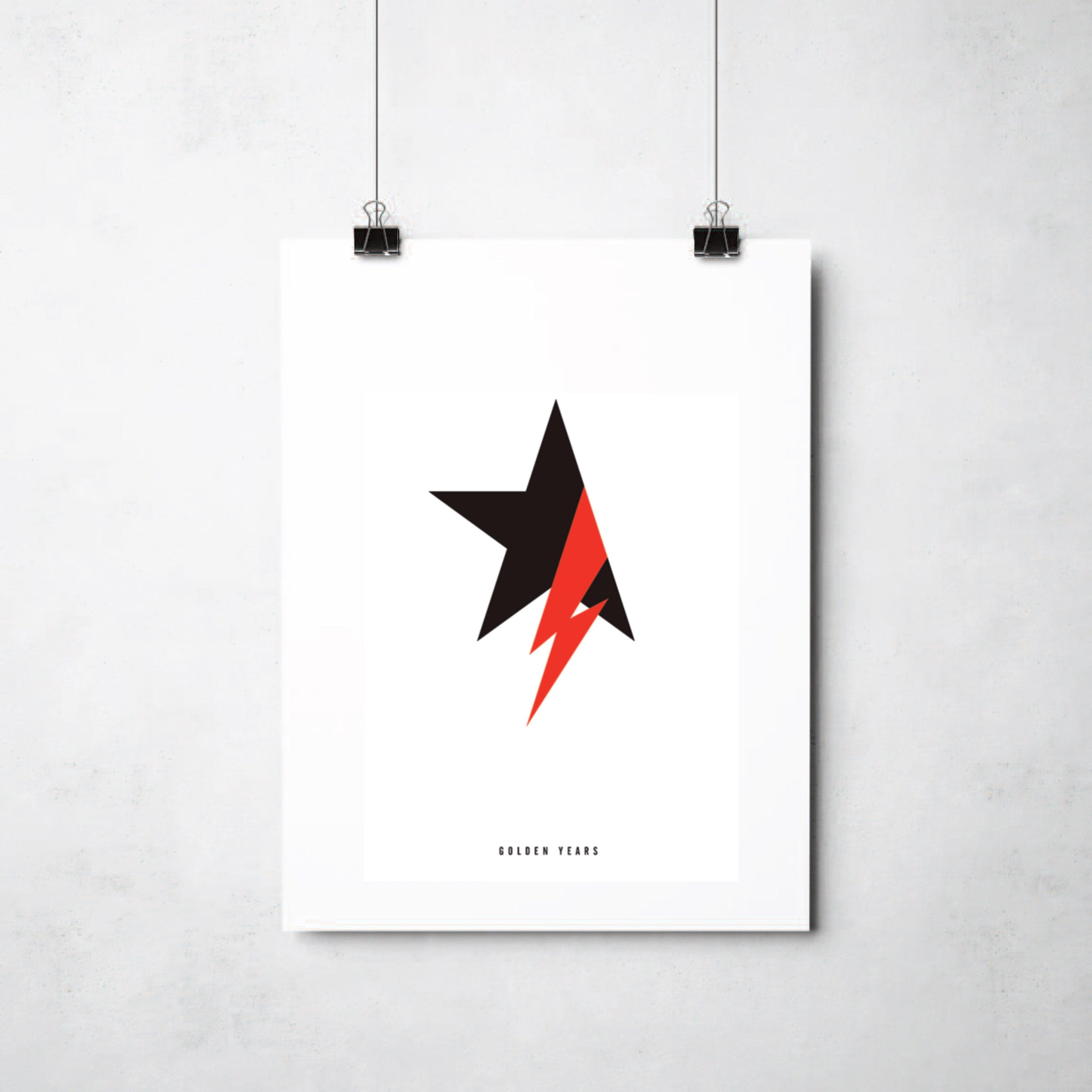 David Bowie print by This Charming Manc