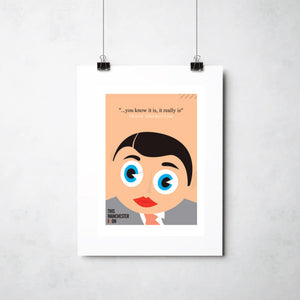 Frank Sidebottom print by Ray Lancaster
