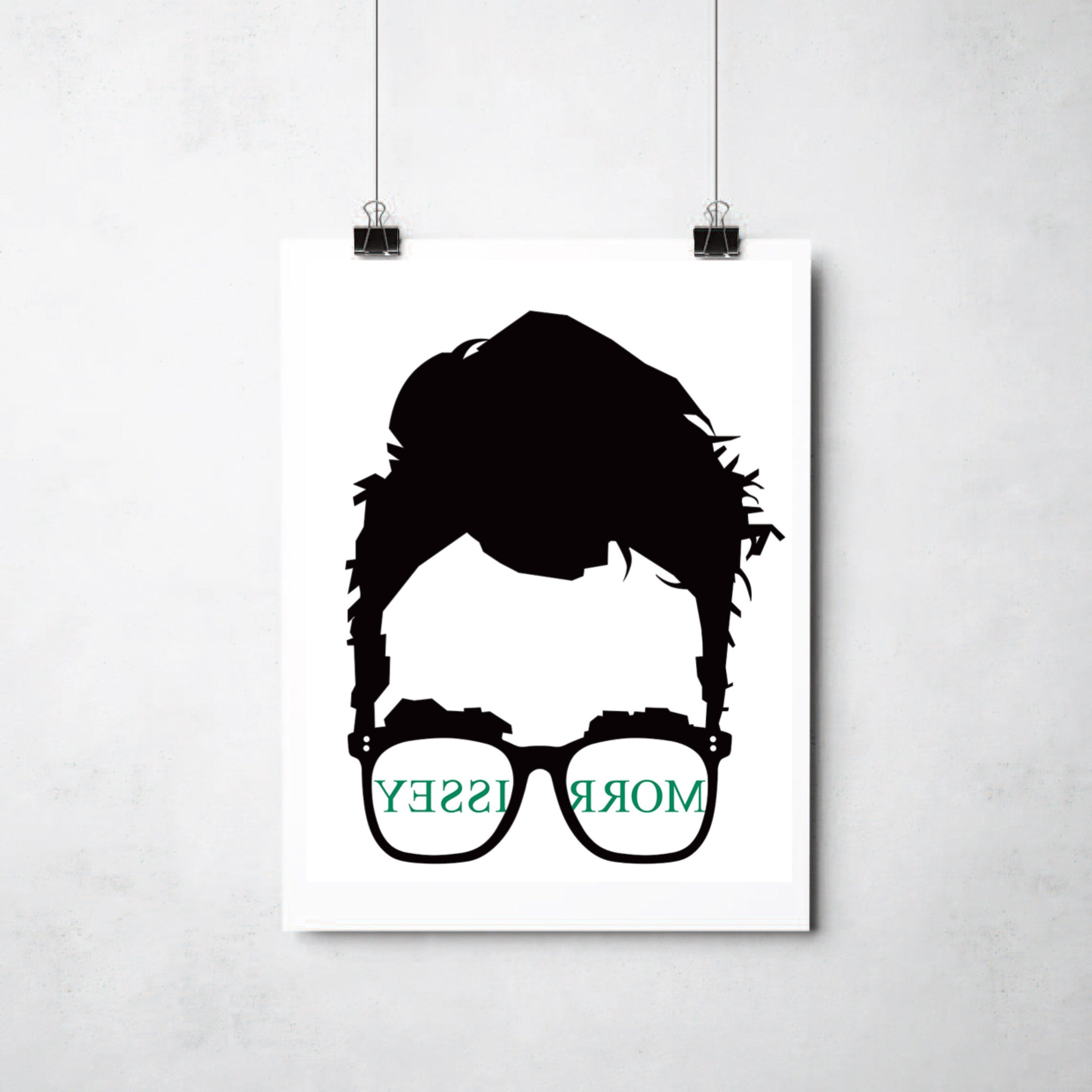 Morrissey print by This Charming Manc